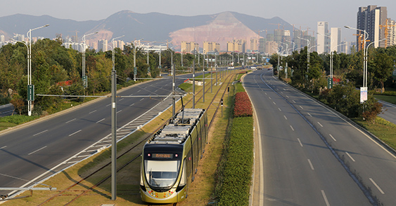 Suzhou High Tech Zone Modern Tram Line 1